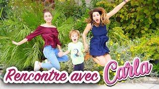 RENCONTRE AVEC CARLA (EX KIDS UNITED) CHEZ ELLE A AVIGNON! VLOG ANGIE MAMAN 2.0