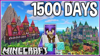 I Played Minecraft for 1500 Days.. (1.17 Survival)