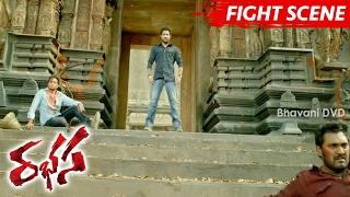 Jr NTR Best Action Fight Scene - Climax Scene - Rabhasa Movie Scenes