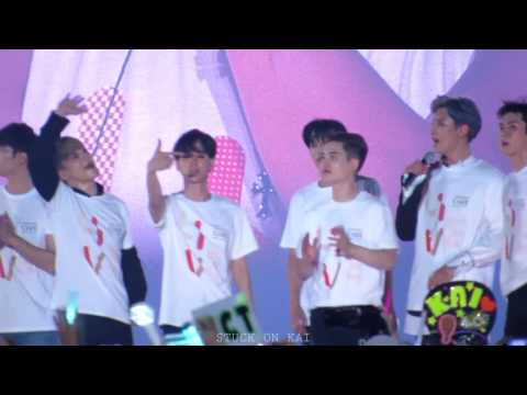 170708 SMTOWN LIVE WORLD TOUR Ⅳ IN SEOUL 빛(HOPE) EXO
