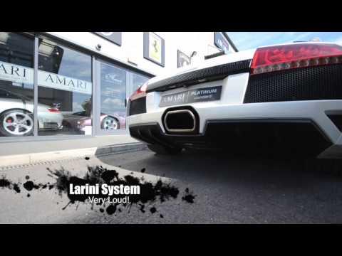 Lamborghini Murcielago LP640 Roadster - Fitting A Larini Exhaust System