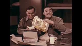 1960's Post Toasties with Gomer Pyle IN COLOR!