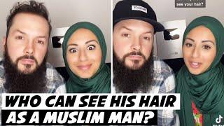Who can see HIS hair as a Muslim man? #shorts