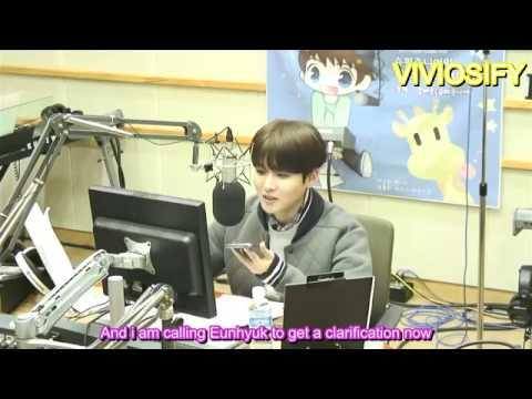 [ENG SUBS] 141217 Sukira Phone Call to Eunhyuk