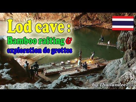 lod cave, visites de grottes et bamboo rafting près de pai