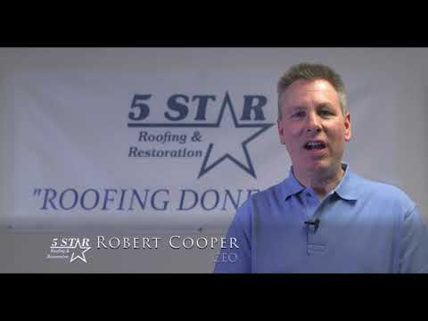 Client Spotlight - Rob Cooper with 5 Star Roofing and Restoration