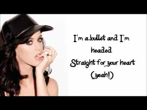 Katy Perry - Bullet (Lyrics On Screen) [FULL SONG] + DOWNLOAD !!!!