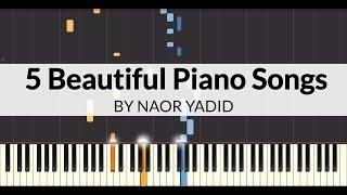 5 Beautiful Piano Songs (Piano Tutorial)
