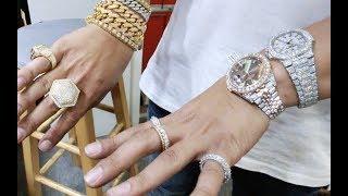 Franky Diamonds Miami Jeweler Teaches Us How To Set Diamonds, Talks Labor & GIA Certified Diamonds.