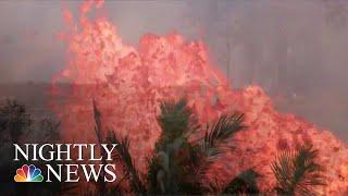 Hawaii Lava Threatens To Block Remaining Roads For Evacuation | NBC Nightly News