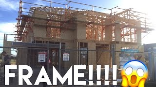 Building Our Dream Home   The Frame is Up!! - Episode 7