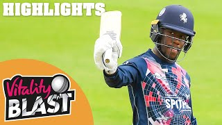 Essex v Kent | Bell-Drummond Smashes 81 off 45! | Vitality Blast 2020 Highlights