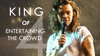 Harry Styles King of Entertaining the Crowd - Part 4