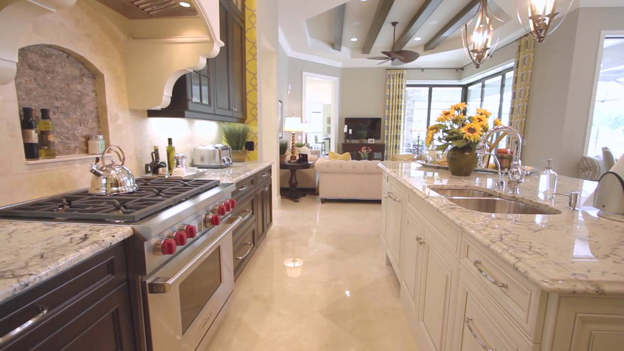Florida Luxury Homes The Barbados Ii In Highfield Youtube