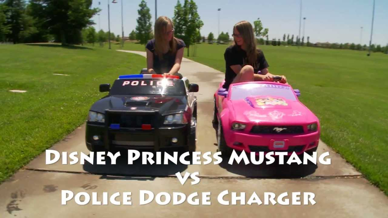 Dodge Charger Vs Disney Princess