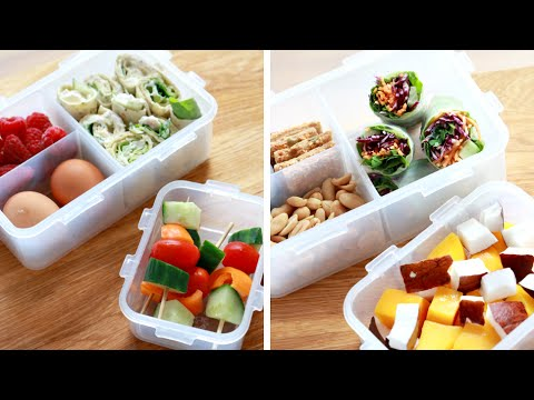 Gezonde Lunch Box Tips