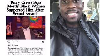 Terry Crews Says He Was Only Supported by Blk Women After Assault, Ridiculed By Men...