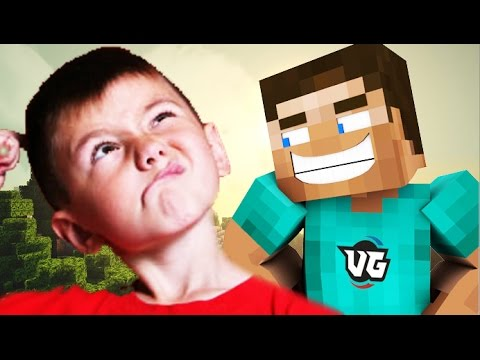TWO MINDLESS KIDS RAGE ON MINECRAFT! (Minecraft Trolling) - videogames  - Qmz2RTwzxGo -