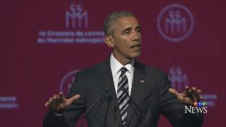 [HD] Obama's Full Speech At Montreal 6/6/17