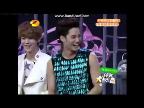 [ENG SUB] EXO - Happy Camp 快乐大本营 (OT12 120721)