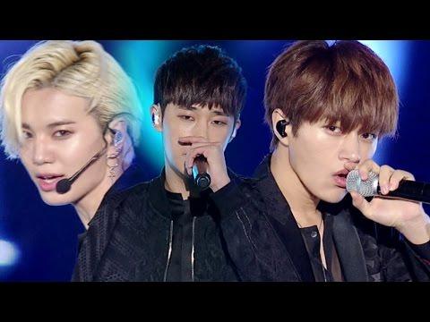 《BOF》 INFINITE (인피니트) - The Eye (태풍) @인기가요 Inkigayo 20161030