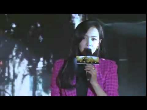 Victoria singing live《星星泪》Star Tears