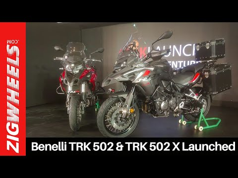 Benelli TRK 502 & TRK 502 X Launched & First Look