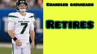 Jets Kicker Chandler Catanzaro Retires After Bad Preseason Game (2019)