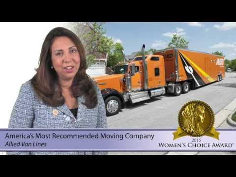 Allied Van Line - 2016 Corporate Video from the Womens's Choice Award