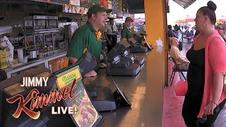 Cousin Sal Hidden Camera at Nathan's Famous Hot Dogs New York