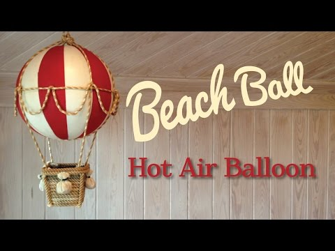 Beach Ball Hot Air Balloon