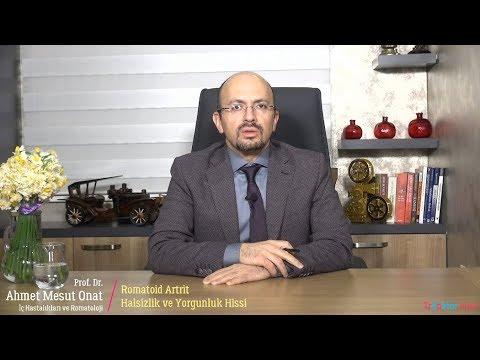 Romatoid Artrit Halsizlik ve Yorgunluk Hissi