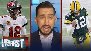 Bucs-Packers NFC Championship is biggest game for Rodgers in 6 yrs — Nick   NFL   FIRST THINGS FIRST