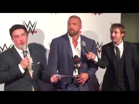 Interview de Triple H à Paris le 22 avril 2016