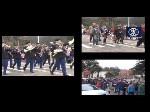 Pictures of Memorial Day Parade at the Presidio, San Francisco, CA, USA