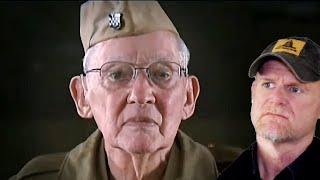 WW2 Sniper Still Deadly at 86 (Marine Reacts)