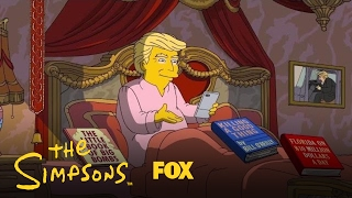 Donald Trump's First 100 Days In Office | Season 28 | THE SIMPSONS