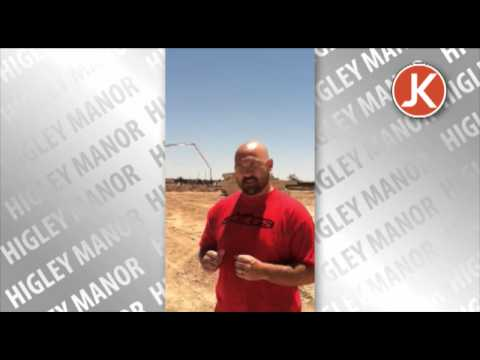Making of Higley Manor: Foundations Made for Model Homes