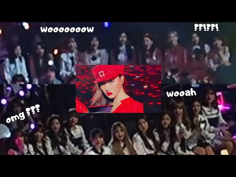MAMAMOO (마마무) Moments & Idols/Artists Interaction/Reaction at Mnet Asian Music Awards (MAMA) 2018