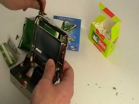 Zig Zag Automatic Cigarette Rolling Machine Youtube