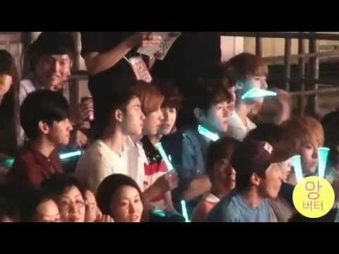 [Fancam] 120721 EXO & Changmin at SHINee World II concert