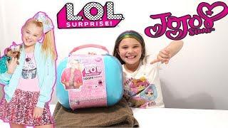 LOL JoJo Siwa Bigger Surprise! Custom LOL Bigger Surprise DIY