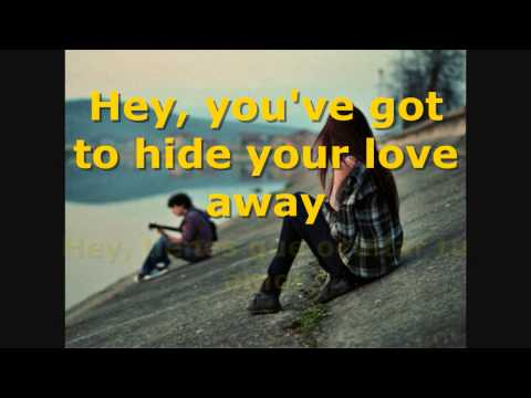 The Beatles - You've Got to Hide Your Love Away - Subtitulada en español e inglés