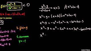 Racionalna enačba in neenačba 1