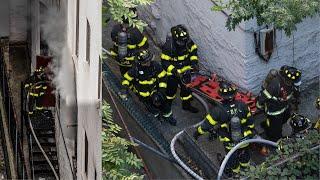 ** ACTIVE SHOOTER + FIRE ** [ Manhattan 2nd Alarm Box 1534 ] Gunman Lights Home on Fire
