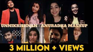 Unnikrishnan- Anuradha Mashup | Super Singer Stars | Golden Hits