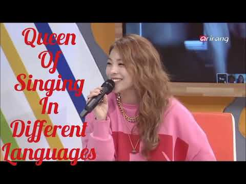 👑Ailee singing in different languages