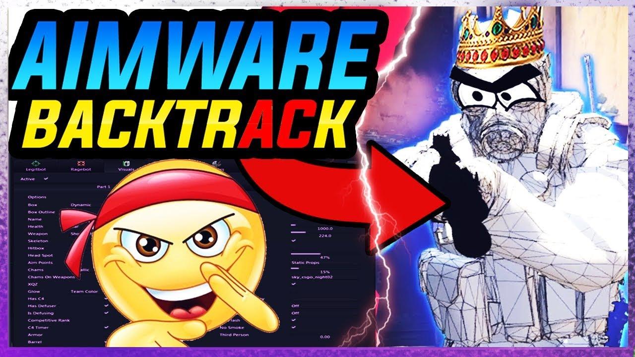 CS:GO Legit HACKING | AIMWARE v4 RAGE Backtrack (OMG!!) | NON PRIME (FREE)  Cheating | RAGE CFG