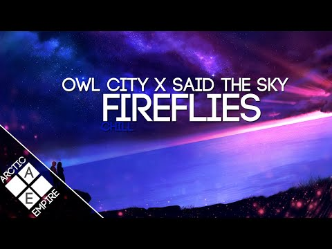 Owl City - Fireflies (Said The Sky Remix)