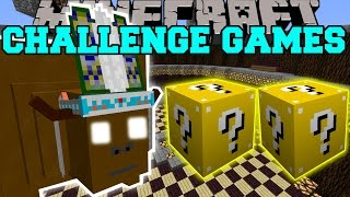 Minecraft: CHIEF THUNDERHOOVES CHALLENGE GAMES - Lucky Block Mod - Modded Mini-Game